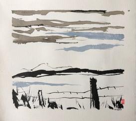 Landscape Brushwork series