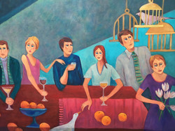 Dinner Party (with oranges)