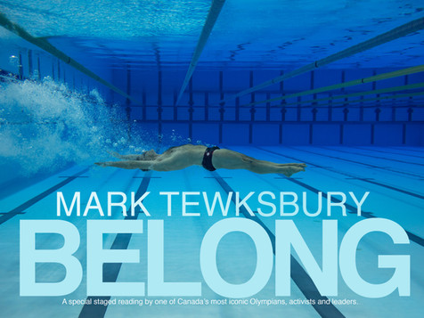 Mark's hit One-Man-Show, Belong, returns to Calgary, January 2020 with HIgh Performance Rodeo
