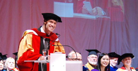 Honorary Doctorate of Laws for service to Canada, University of Calgary 2010