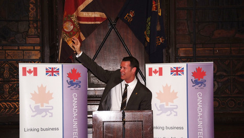 Event for the Canadian Embassy, London 2011