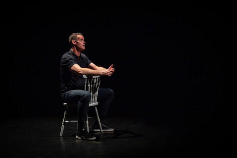 Belong, Mark's One-Man-Show at Wordfest, Calgary, May 2019