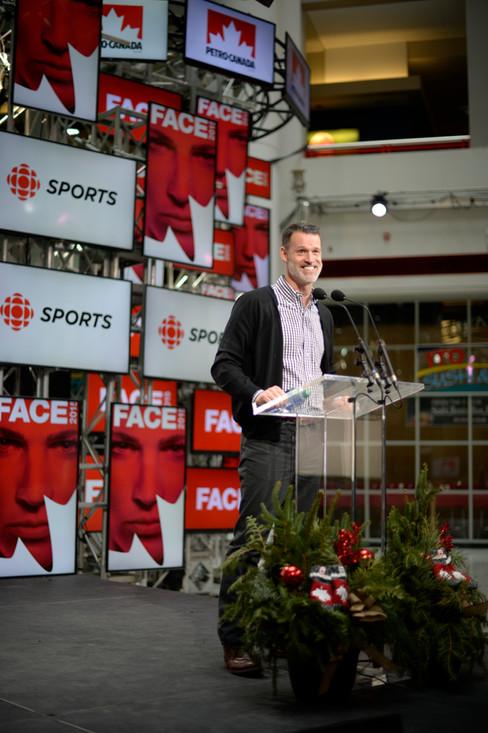Hosting Petro Canada's Face Summit, Toronto