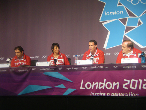 Mark was Chef de mission, 2012 Canadian Olympic Team in London