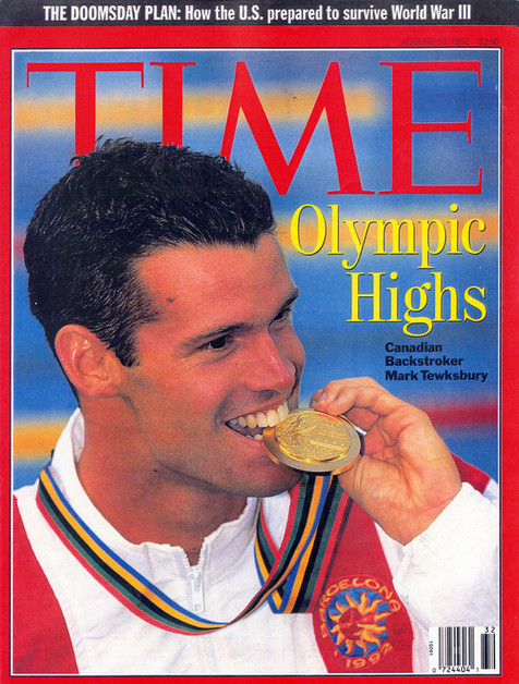 The cover of Time Magazine, August 1992