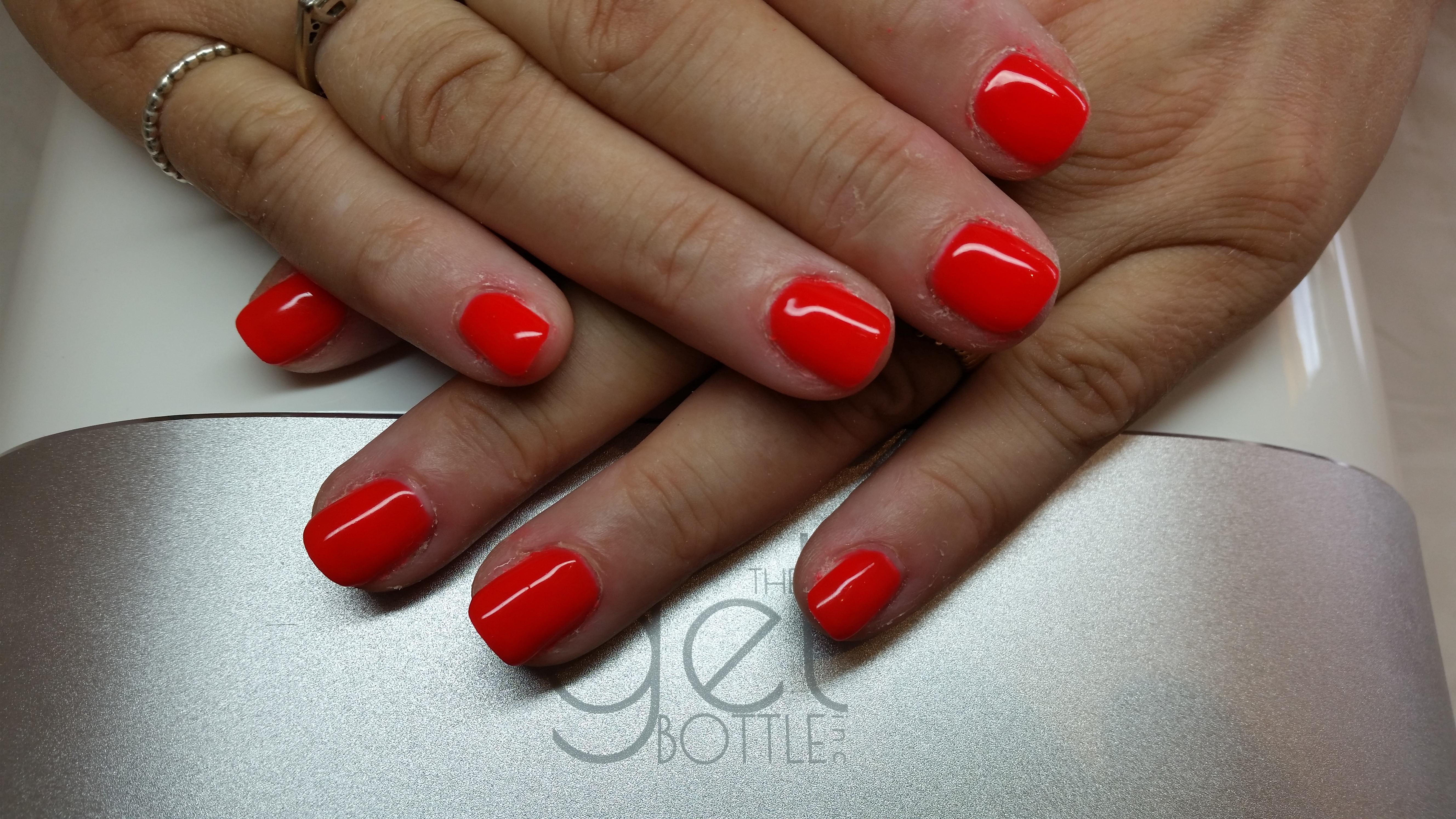 Gel bottle manicure top up (hands only )