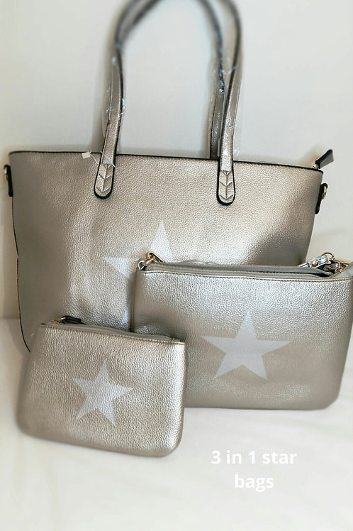 3 in 1 star bags