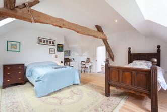 George's top floor bedroom