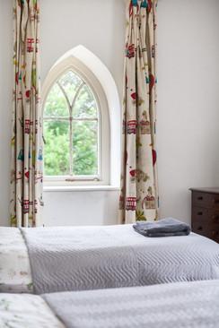 Gothic bedroom window