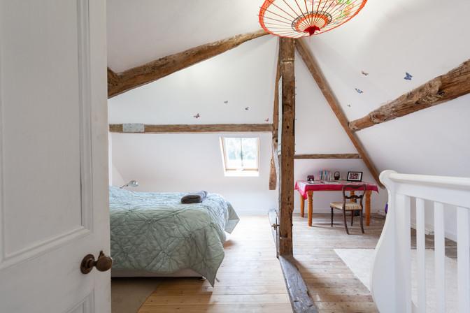 Lily's top floor bedroom