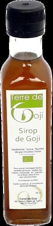 Sirop de Goji
