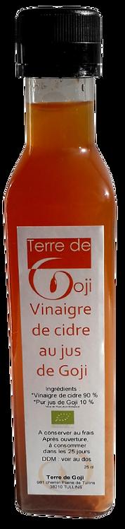 Vinaigre de cidre au Goji