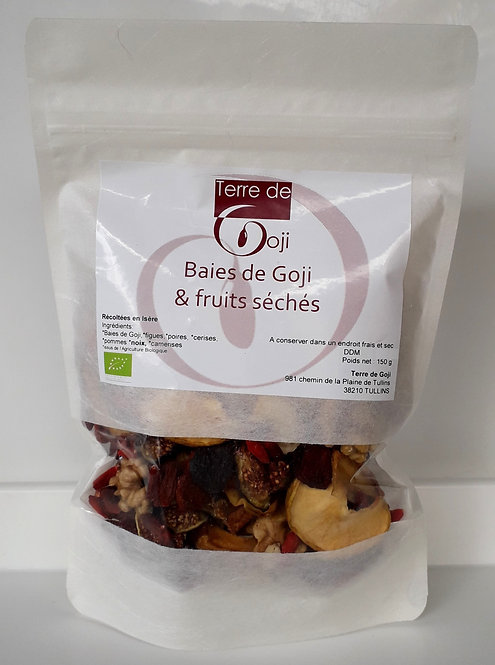 Baies de Goji & fruits séchés