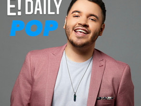 Chris Valdes to be on E! Daily Pop show for Hispanic Heritage Month on Thursday, Sep 23rd.