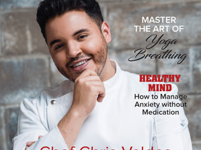 """Chef Chris Valdes on Inspire Health Magazine: """"One With The Community"""""""