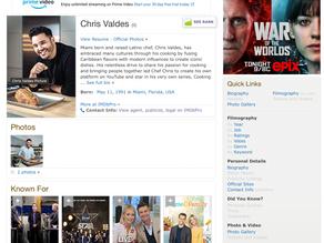 Check out Chris' IMDb page