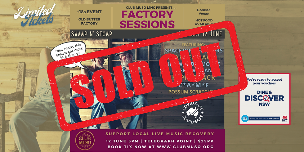 Swamp N' Stomp - Club Muso Factory Session
