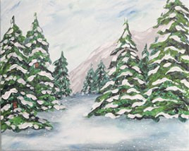 Just for Fun Winter Paint Theme Workshops