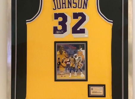 Latest Sport Jersey Custom Framing in house