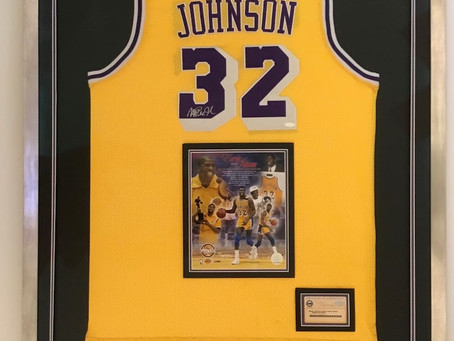 Latest Sport Jersey Custom Framing in house