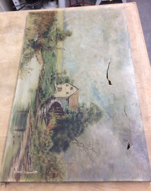 Oil Painting before Conservation