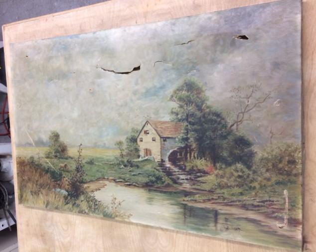 Before Art Restoration