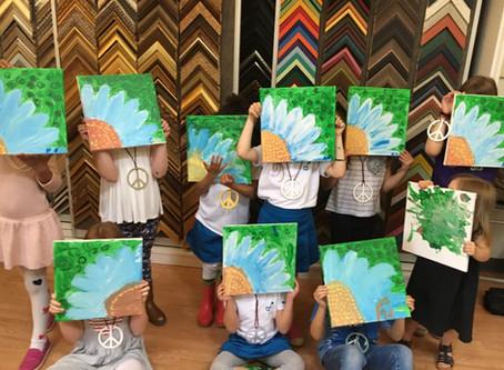 Art Birthday Parties for kids now open