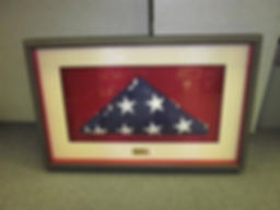 US Flag Shadowbox Custom Framing