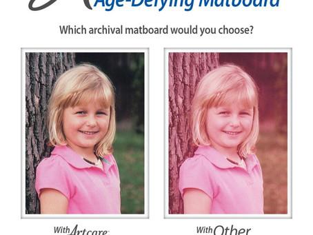 Artcare Age -Defying Matboard