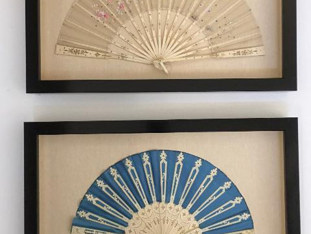Check out our latest Custom Framed Antique Fans