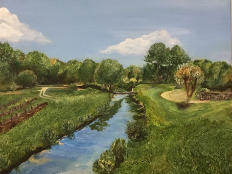 Local Reston Artist Oil Painting for Sale