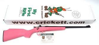 Keystone Cricket 22  single shot Pink and Black in stock