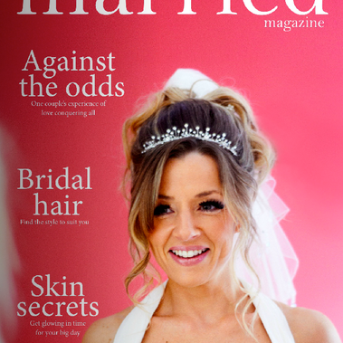 Featured in Getting Married Magazine