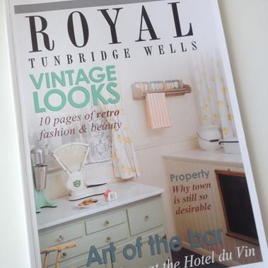 Featured in Royal Tunbrdge Wells Magazine