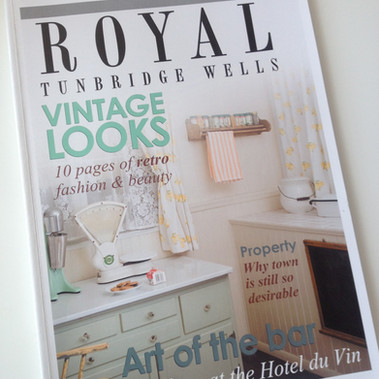 Featured in Royal Tunbrdge Wells Magazine
