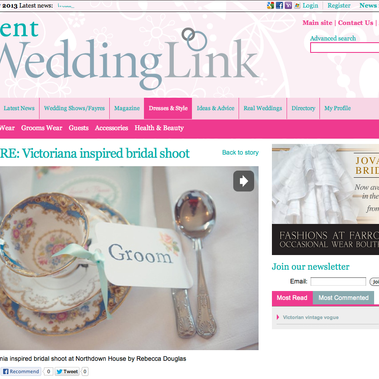 Featured on Wedding Link Blog