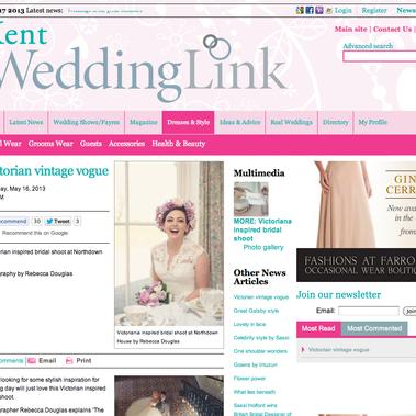 Featured on Wedding Link Blog
