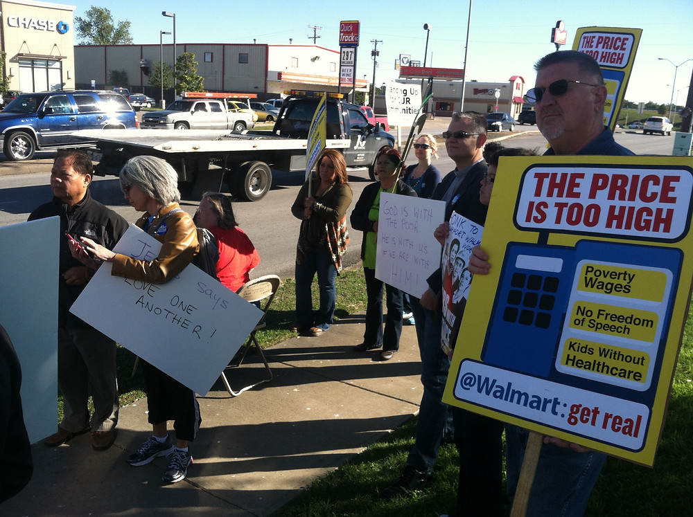 Walmart Workers Protest