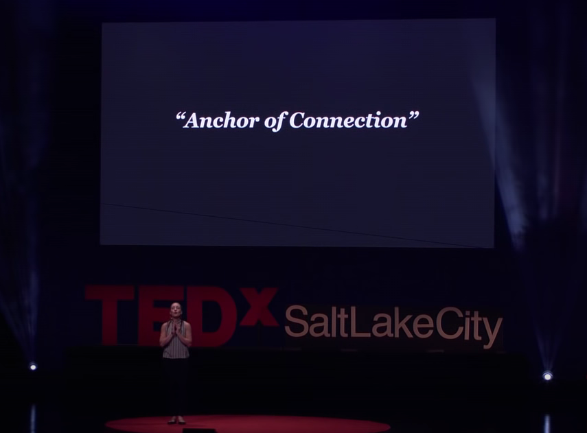 The Simple Cure for Loneliness   Baya Voce   TEDxSaltLakeCity