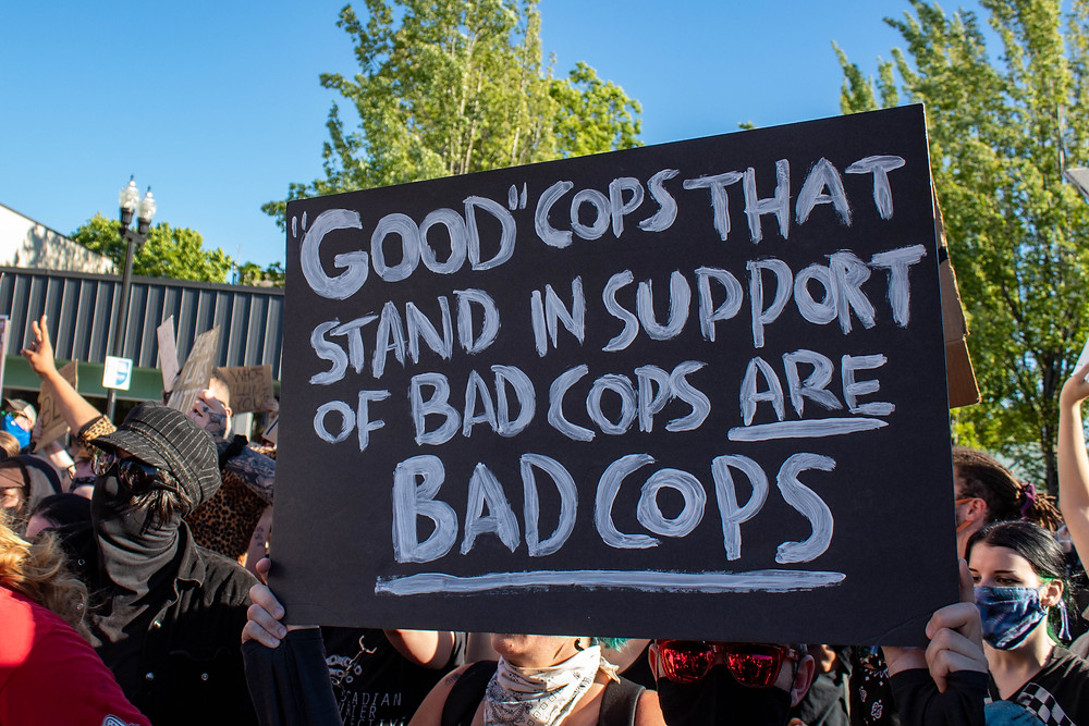 Good cops that stand in support of bad cops are bad cops