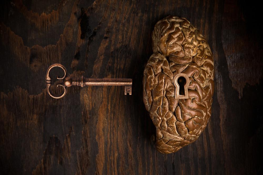 Lock and Key Brain