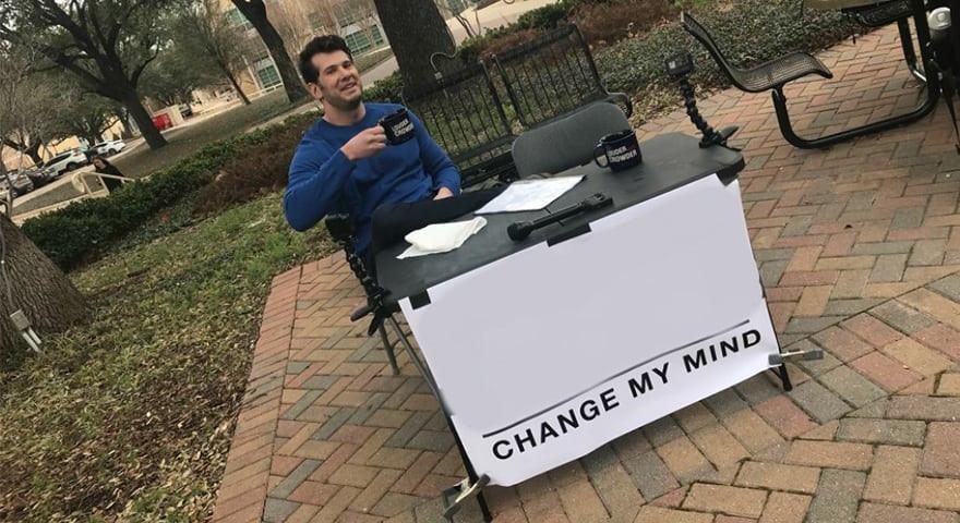 Steven Crowder - Change My Mind