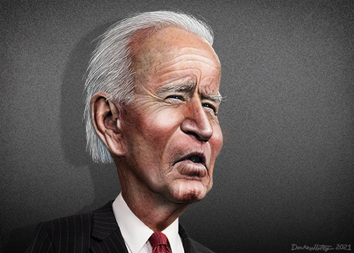 Joe Biden Caricature
