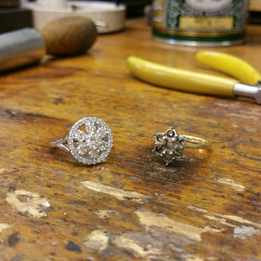Halo Cluster Ring Remount