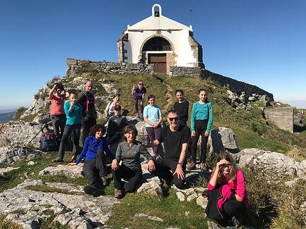 Pico y ermita de Las Nieves (773m)