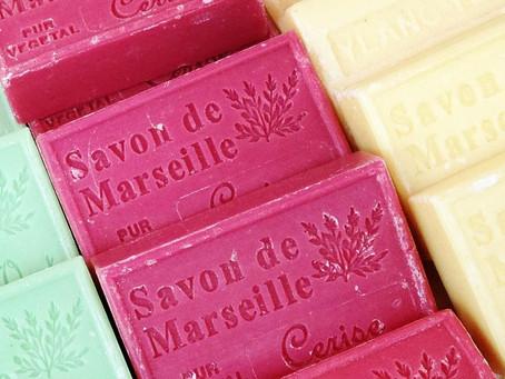 Le savon de Marseille, idéal pour le nettoyage !
