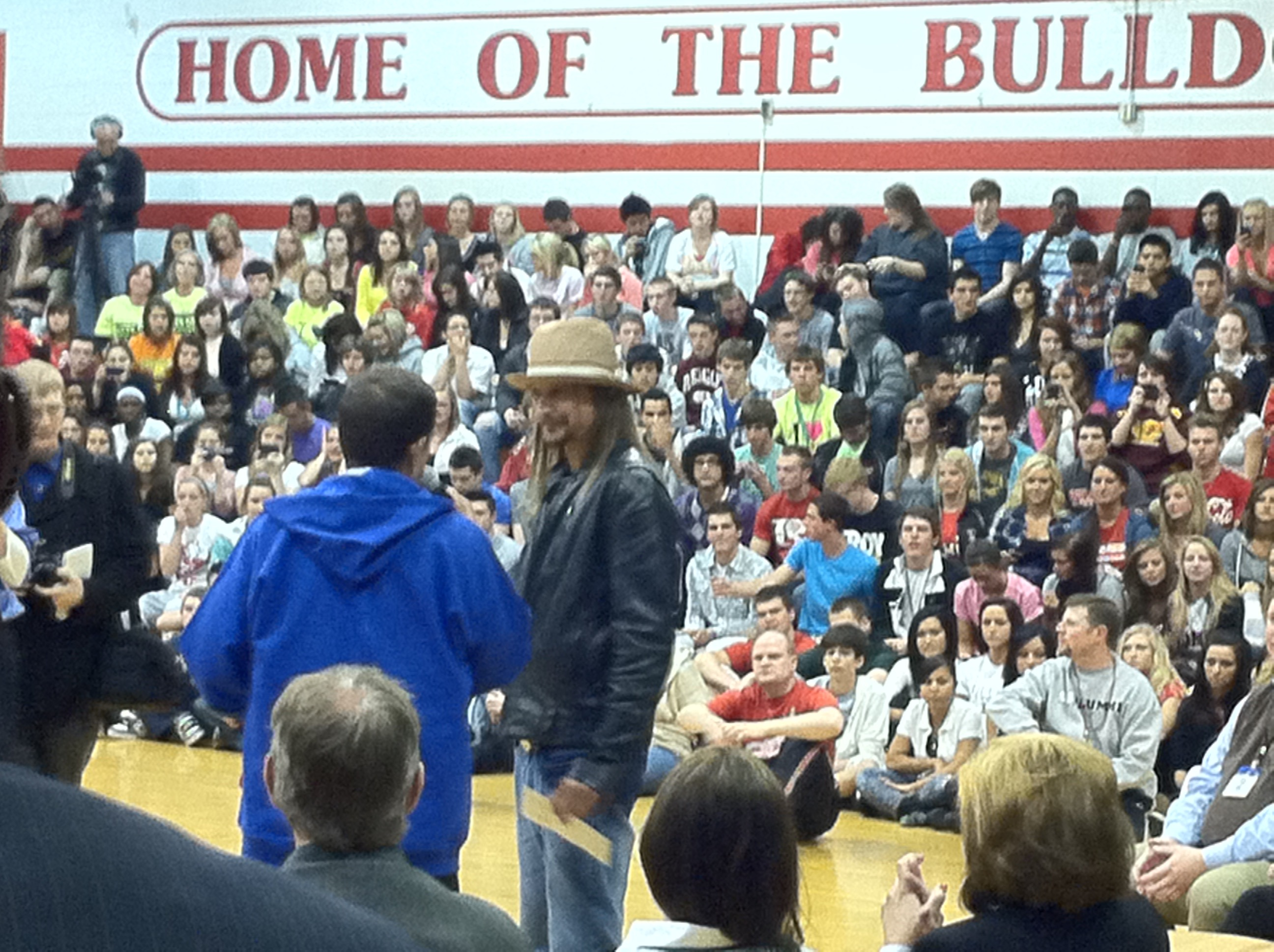 Assembly with Kid Rock
