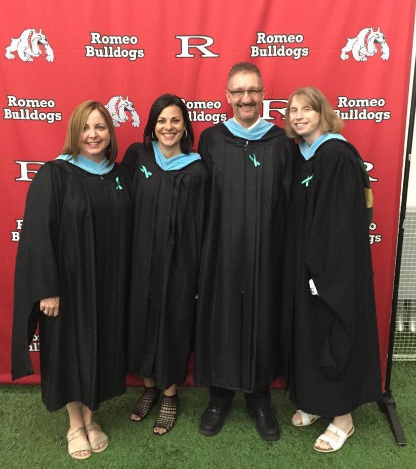 RHS Counselors at Graduation