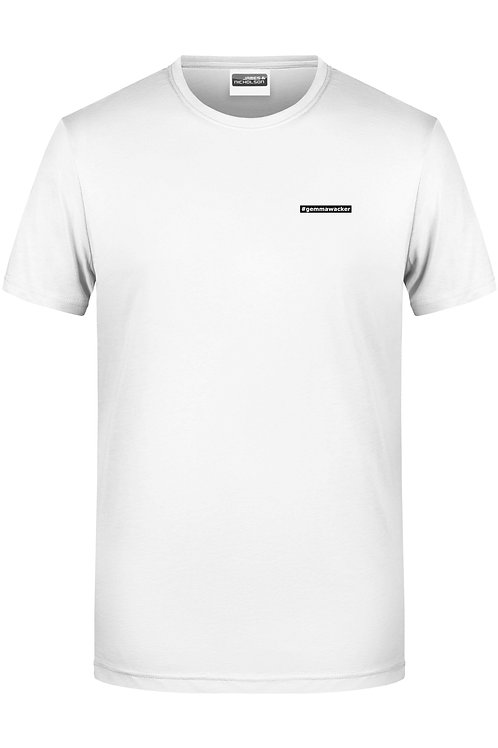 """Männer-Shirt: """"#gemmawacker"""""""