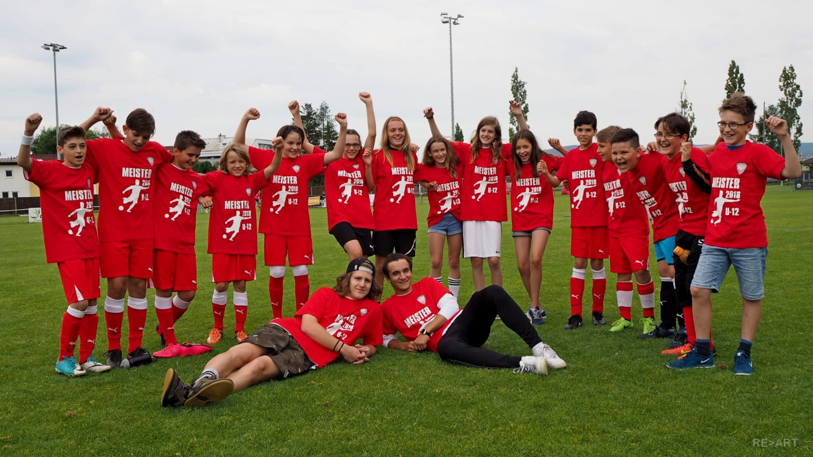 Teamfoto U14